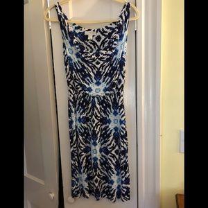 Kenar printed dress